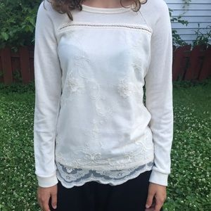 Maurices Lace Long Sleeve